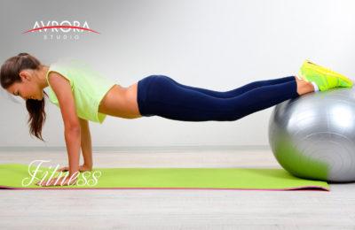 Фитнес для модели